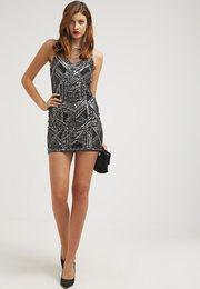 Kjøp paljettkjole på nett i nettbutikk svart sølv